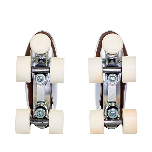 Chicago Women's Leather Lined Rink Roller Skate (Size 10), White