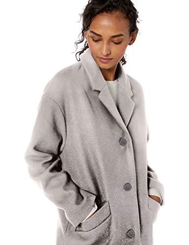 Amazon Brand - Daily Ritual Women's Oversized Wool Blend Cocoon Coat