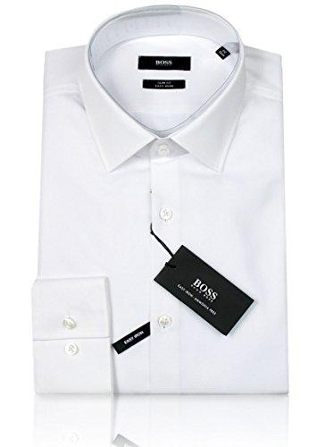 HUGO BOSS Business-Hemd | Jenno ( Slim Fit ) weiß/white