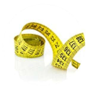 alfombrilla de ratón cinta amarilla de la medida - ronda - 20cm