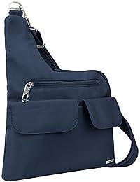 Anti-Theft Cross-Body Bag, Midnight, Two pocket
