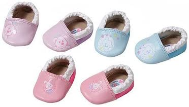 Multicolor 3 year 43 cm Doll Shoes 43 cm Zapf BABY born Shoes with Funny Pins Doll Shoes Girl s