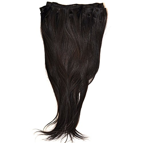 Weave Johnson Beverly (Beverly Johnson Brazilian Straight Black Hair Extension 12 inches)