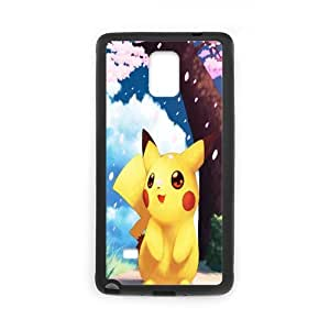 SamSung Galaxy Note4 Case, SamSung Galaxy Note4 Cover -Pokemon&Pikachu Custom Hard Mobile Phone Shell Protector for SamSung Galaxy Note4