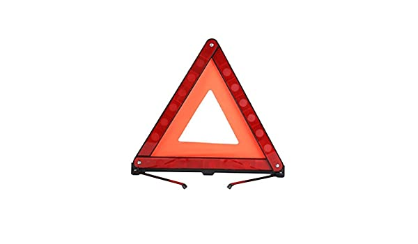 WINOMO 3 pcs advertencia triángulo de emergencia Advertencia Triángulo reflector triángulo de seguridad Kit para coche desglose: Amazon.es: Bricolaje y ...