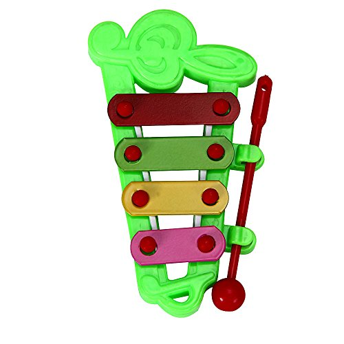 LiPing Baby Kid 4-Note Xylophone Musical Toys Wisdom Development (Green)