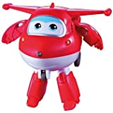 Boneco Grava e Fala Modelo Jett Super Wings Vermelho