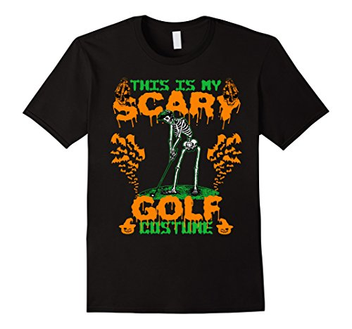 Mens Funny T-shirt For Golf. Best Gifts For Men On Halloween Large Black (Best Golf Halloween Costumes)