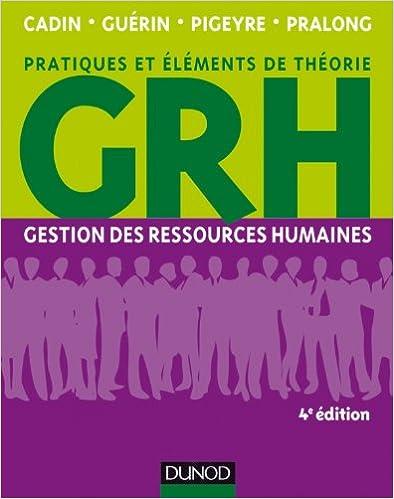Download Online GRH - 4e éd. - Gestion des ressources humaines epub, pdf
