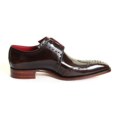 Jeffery West Moon Classic Wing Gibson Mens Shoe Pickled Walnut
