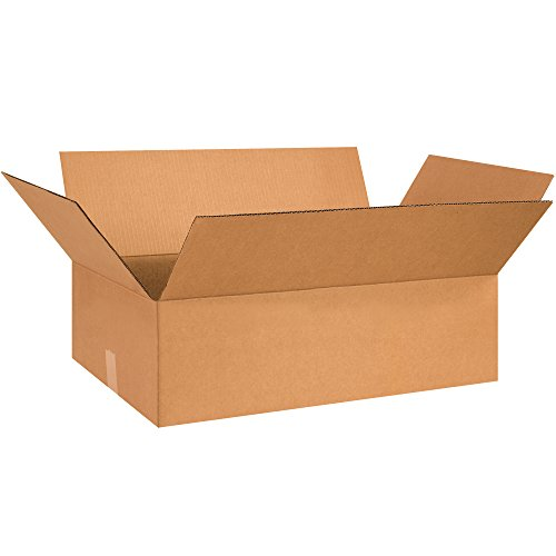 Boxes Fast BF26155 Corrugated Cardboard Flat Shipping Boxes, 26