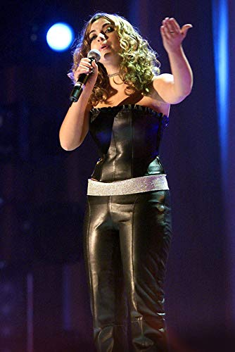 Charlotte Church in Black Leather 24x18 Poster