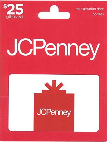 Jcpenney Gift Card  25