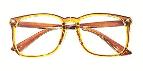 NSNY Blue Light Filter Computer Glasses for Blocking UV Headache [Anti Eyestrain] Gaming Glasses, Unisex (Men/Women) ()