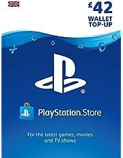 PlayStation PSN Card 42 GBP Wallet Top Up | PSN Download Code - UK account