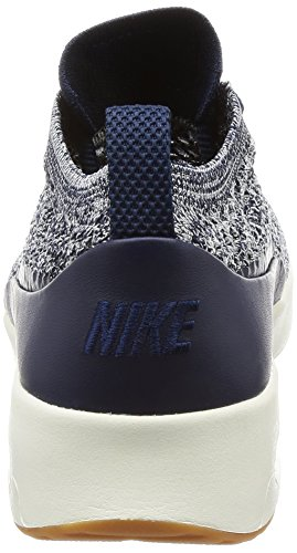 Nike Flyknit Sail Air College Thea Femme Baskets Ultra College Navy Multicolore Navy Max Iww7axr