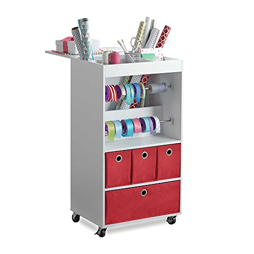 Real Simple Gift Wrap Cart