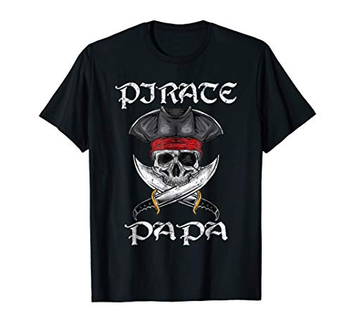 Pirate Papa Funny Skull Adult Gift Halloween Costume