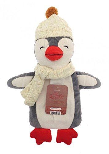 Botella de agua caliente, Calentador de invierno para niños 3D de 1 l, pingüino