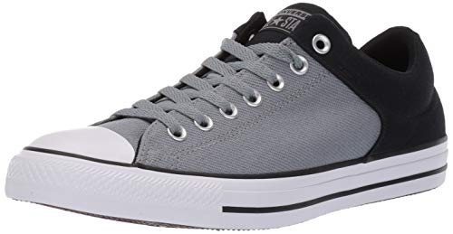 Converse Men's Unisex Chuck Taylor All Star Street Colorblock Low Top Sneaker, Black/Cool Grey/White 11 M US