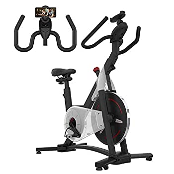 Image of ATIVAFIT Indoor Cycling Bike MagneticResistance System Stationary Exercise Bike with Tablet Holder and LCD Monitor for Home Workout Exercise Bikes