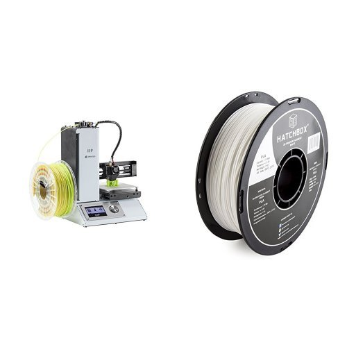 Monoprice Select Mini 3D Printer with Heated Build Plate, Includes Micro SD Card and Sample PLA Filament – 115365