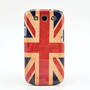 hao Retro Britain National Flag Pattern Case Cover for Galaxy 3 I9300