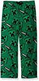 Minecraft Boys' Big Lounge Pants, Creeper Cool, 10