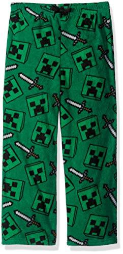 Minecraft Creeper Pants (Minecraft Boys' Little Creeper Lounge Pants, Cool,)