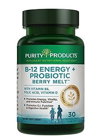 Amazon.com: B-12 se derrite de energía + Probiotics, 30 ...
