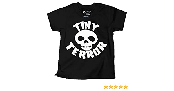 Amazon.com: Cartel Ink Kids Tiny Terror T-Shirt Black: Clothing