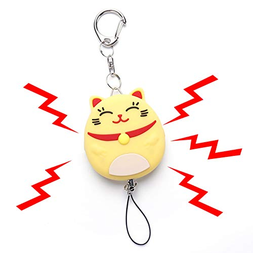 Lowest Prices! Bear Gentleman Personal Alarm, 130db Emergency Safe Sound Self Defense Cute Keychain ...