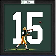Green Bay Packers Bart Starr #15 Players Jersey Uniframe