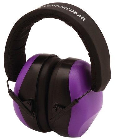 Pyramex VGPM8065C Venture Gear Hearing Protection, One Size, Purple