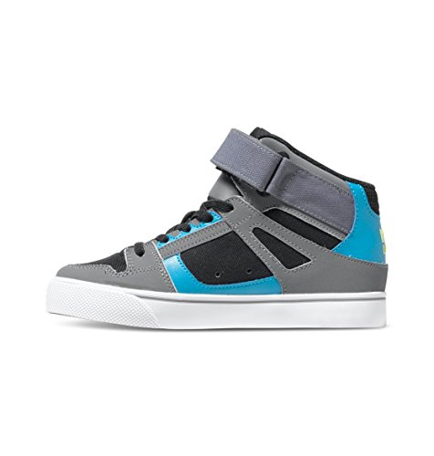 DC Shoes Spartan High EV, Baby Jungen Krabbelschuhe Grau (black/armor/turquois)