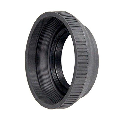37mm Collapsible Rubber Lens Hood For Sony Handycam Camcorder HDR & DCR - Lens Bower Hood