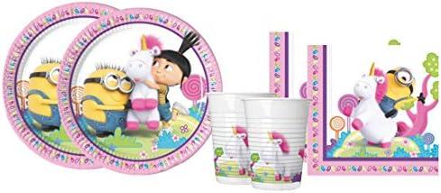 Irpot Kit - A Fiesta de cumpleaños Despicable Me - Minions Fluffy: Amazon.es: Juguetes y juegos