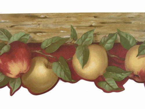Die Cut Fruit Wallpaper Border - Norwall Die Cut Fruit Wallpaper Border Pattern Number: KL76981DL