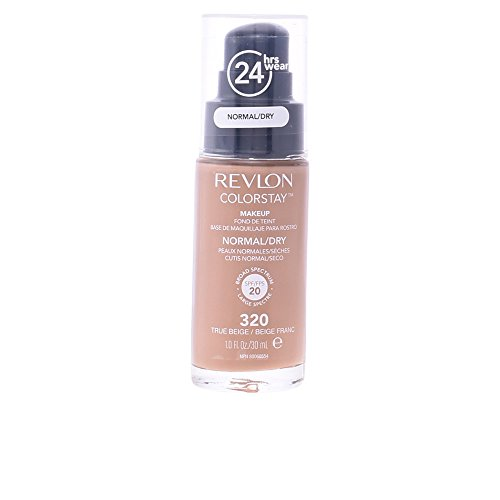 Revlon Colorstay SPF 20 Makeup Foundation for Normal/Dry Skin, True Beige, 1 Ounce