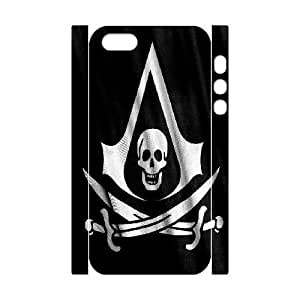 iphone5s Phone Case White Assassin Creed-5 ZCC573331