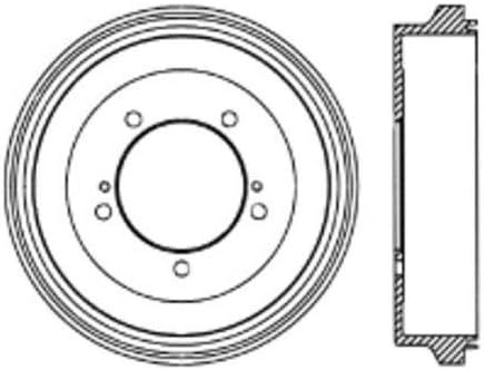 Centric Parts 123.48011 Brake Drum