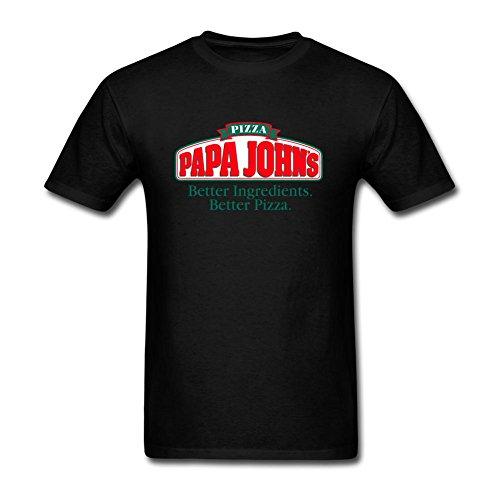 zhengxing-mens-papa-johns-logo-t-shirt-xl-colorname-short-sleeve