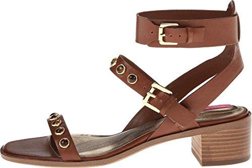 Isaac Mizrahi New York Women's Strap2 Dress Sandal,Scotch,10 M US