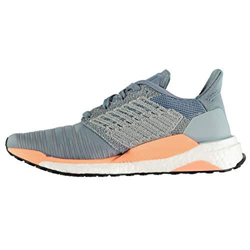 W Damen adidas Boost Coral Grey White Laufschuhe Raw Solar Chalk waHHdqt