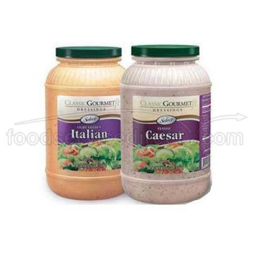 Ventura Foods Classic Gourmet Select Caesar Salad Dressing, 1 Gallon -- 4 per case. by Ventura Foods