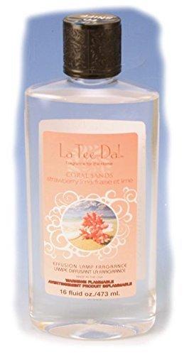 Plum Liqueur (La-Tee-Da Effusion and Fragrance Lamp Oil Refills - 16 oz - CORAL SANDS)