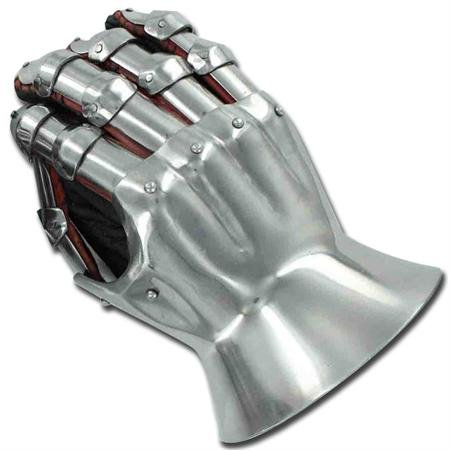 Medieval Renaissance Functional Hourglass Gauntlets Set by My Best Collecstion (Image #3)