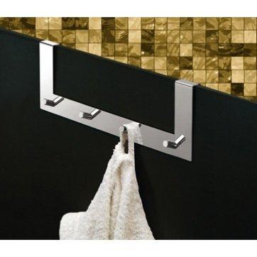 Chrome Over Door Multiple Hook (for shower door) 2124-13