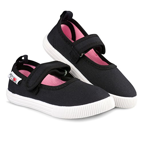 Pictures of Girls Mary Jane Sneakers - Casual Canvas Shoes 1