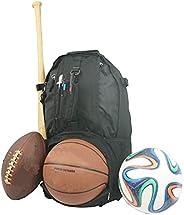 K-Cliffs Baseball Backpack with Basketball Football Soccer Ball Storage Shoe Helmet Compartment